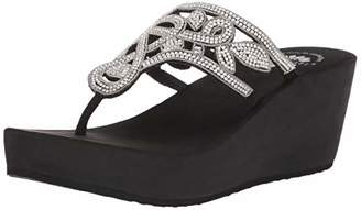 42739fa714 Yellow Box Platform Wedge Women's Sandals - ShopStyle
