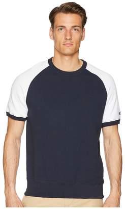 Todd Snyder + Champion Short Sleeve Colorblock Sweatshirt Men's Sweatshirt