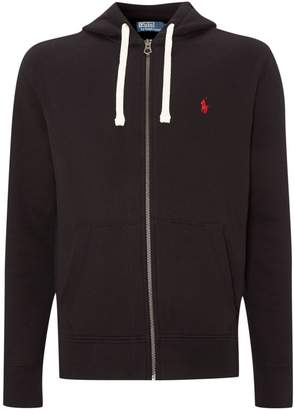 Polo Ralph Lauren Men's Zip-through cotton-blend hoodie