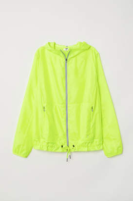 H&M Windproof Running Jacket - Yellow