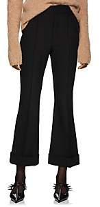 Helmut Lang Women's Crop Flared Trousers - Black