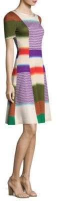 Missoni Striped Colorblock Dress