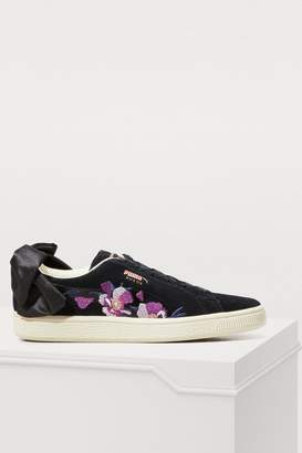 Puma Bow flowery sneakers