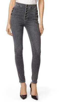 J Brand Natasha Sky High High Waist Super Skinny Jeans