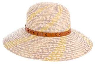 Rag & Bone Straw Wide-Brim Hat
