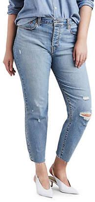Levi's Plus Wedgie Mid-Rise Jeans