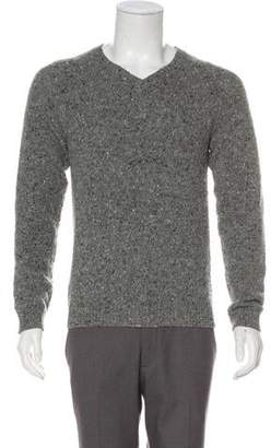 Theory Wool-Blend Donegal Sweater