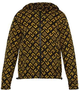 Givenchy 4g Logo Print Jacket - Mens - Black Yellow