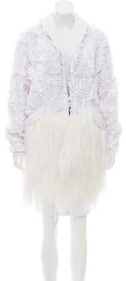 Rodarte Goat Hair Coat