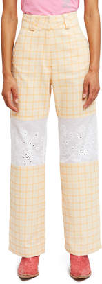 Worldwide Limited Flower Vent Trousers