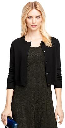 Merino Wool Cropped Cardigan $98 thestylecure.com