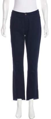 Co High-Rise Straight-Leg Jeans