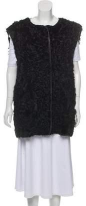 Isabel Marant Oversize Shearling Vest