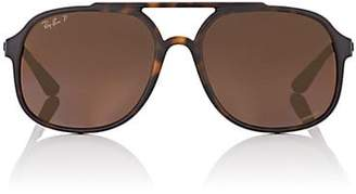 Ray-Ban Men's RB4312CH Sunglasses - Brown