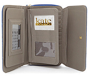Kate Landry The Works Croco Embossed Wallet