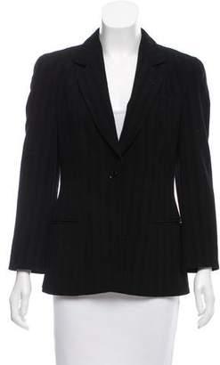 Giorgio Armani Structured Wool-Blend Blazer