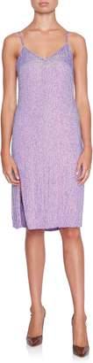 retrofete Denisa Sequin Midi Slip Dress