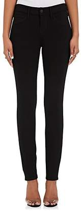 L'Agence Women's Loulou Mid-Rise Skinny Pants - Black