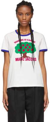 Marc Jacobs White Tree Ringer T-Shirt