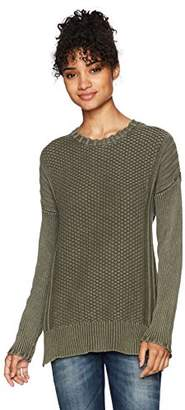 Volcom Women's Twisted Mr Oversized Crew Neck Sweater