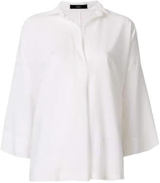 Steffen Schraut oversized v-neck shirt