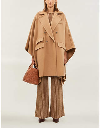 Max Mara Eureka relaxed-fit double-breasted wool cape