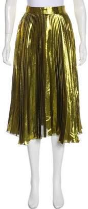 Gucci 2016 Metallic Skirt