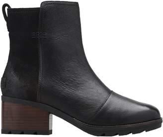 Sorel Cate Waterproof Leather Booties