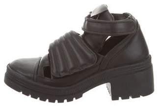 Chiara Ferragni Cutout Velcro Ankle Boots w/ Tags