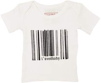 L'ovedbaby Organic Graphic Short Sleeve T-Shirt White Can't Buy L'ove 9-12M
