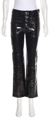 RtA Denim Mid-Rise Leather Pants w/ Tags