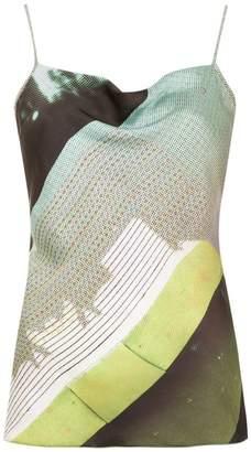 M·A·C Mara Mac spaghetti straps blouse