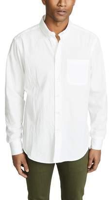 Naked & Famous Denim Dobby Dungaree Easy Shirt