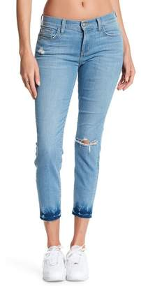 Ralph Lauren Siwy Denim Long Distressed Skinny Jeans
