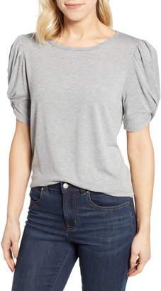 Bobeau Corbin Puff Sleeve Shirt
