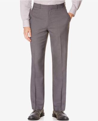 Perry Ellis Portfolio Classic-Fit No Iron Nailhead Men Dress Pants