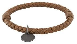 Bottega Veneta Intrecciato Leather Bangle
