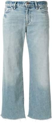 Simon Miller raw hem cropped jeans