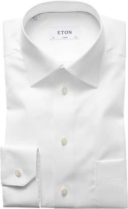 Eton Classic Fit Twill Dress Shirt