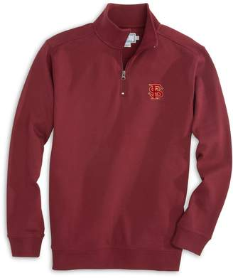 Southern Tide Gameday Skipjack 1/4 Zip Pullover - Florida State University