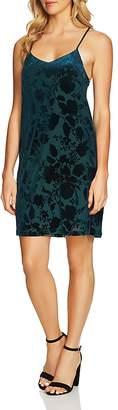 Cynthia Steffe CeCe by Mia Burnout Slip Dress