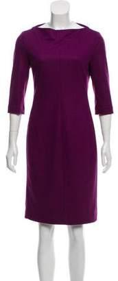 Diane von Furstenberg Knee-Length Wool Dress