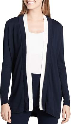 Calvin Klein Open Color Block Cardigan