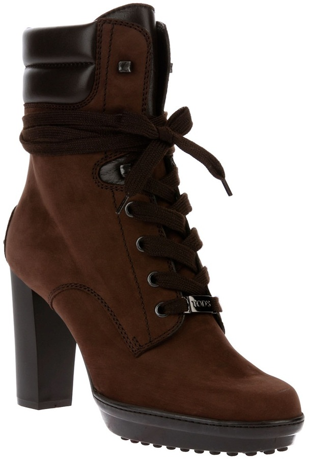 Tod's Lace-up ankle boot