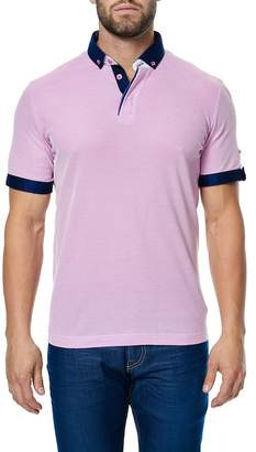 Maceoo Short Sleeve Contemporary Fit Polo Shirt