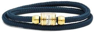 Miansai Casing Rope Bracelet - Mens - Navy Multi