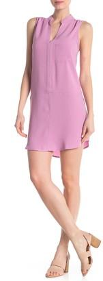 Lush Sleeveless Shirt Dress