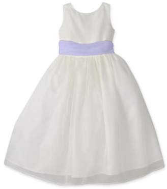 Us Angels Sleeveless Organza Dress