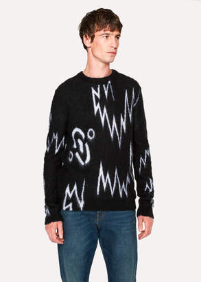 Paul Smith + The Chemical Brothers For Hingston Studio - Black 'Born In The Echoes' Sweater