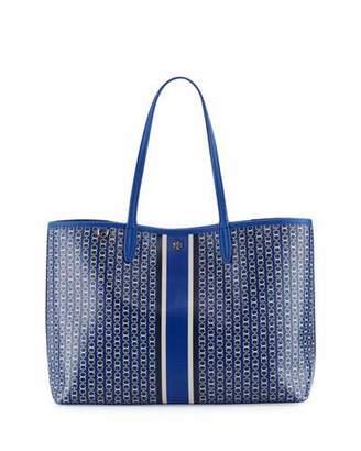 Tory Burch Gemini Link Tote Bag, Jewel Blue $195 thestylecure.com